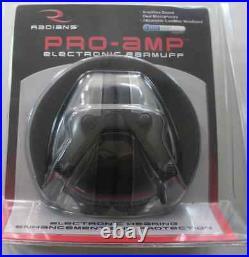 Radians PA0600CS Pro Amp Electronic Earmuff Sound Muffler 18990