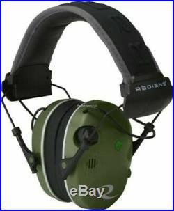 Radians Pewter R-3700 Bluetooth Quad-Mic Electronic Shooting Earmuffs R3700EECS