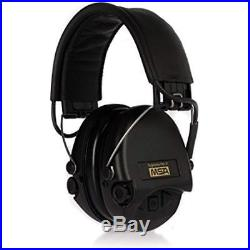 SOR75302-X/L-02 Earmuffs Supreme Pro Standard Edition Electronic With Black Cups