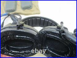 SWAT 3M Peltor ComTac V ACH Tactical Communication Headset Single Comm with PTT