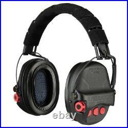 Safariland Liberator HP 2.0 Hearing Protection Black & Red