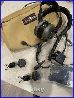Safariland Liberator V headset Headbands, Dual Comms, Helmet Mount