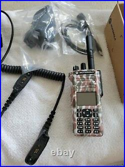 Safariland Liberator V headset with Motorola Xpr 7550e brand new