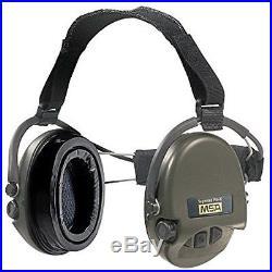 Safety Ear Muffs MSA Sordin Supreme Pro X Green Cups Neckband Electronic