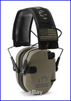 Slim Electronic Hearing Protection Muffs Shooting Hund Earmuffs Sound Amplifier