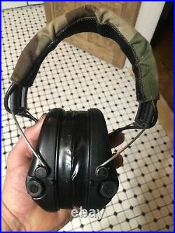 Sordin Supreme Pro-X Black Cups, Camo Headband & Gel Pads