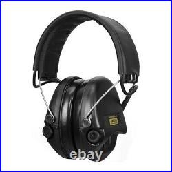Sordin Supreme Pro-X/L Black Cups, Leather Headband