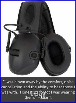 Sport Sound Amplification Earmuff Hearing Protection Impact Noise Electronic New