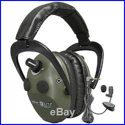 Spypoint Eem4-25 Electronic Ear Muffs 4 Microphones Adjustable Lightweight Green