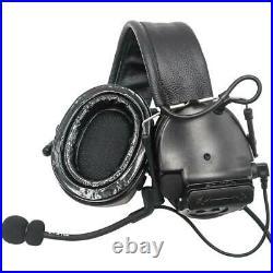TAC-SKY COMTAC III silicone earmuffs hunting shooting noise tactical headset