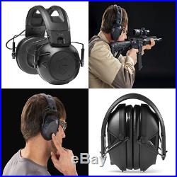 Tactical 300 Electronic Hearing Protector Ear Protection NRR 24 Db Ideal F Black