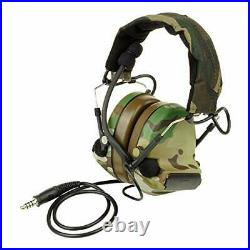 The Mercenary Company Closed-Ear Electronic Hearing Protection (Multicam)