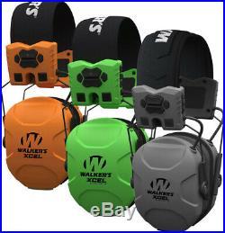 WALKER'S XCEL Advanced Digital Muffs with Bluetooth, 3 Colors, GWP-SF-XSEM-BT