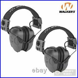 WALKER's Xcel 500BT EAR MUFFS 2-PACK Digital Voice Clarity & Bluetooth 26dB
