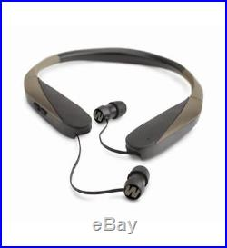 Walker Electronic Ear Plugs For Shooting Bluetooth Music Muffs Game Neck Hearing