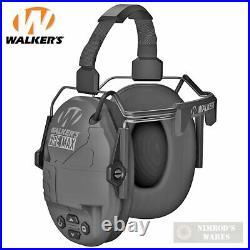 Walker's FIREMAX EAR MUFFS Behind-the-Neck Rechargeable 20-23 NRR GWP-DFM-BTN