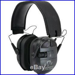 Walker's GWP-XPMQB Black Ultimate Power Muff Quads Earmuff