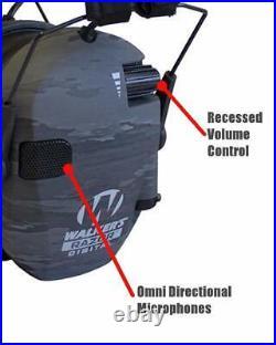 Walker's Game Ear Digital Razor ATACS Ghost camo