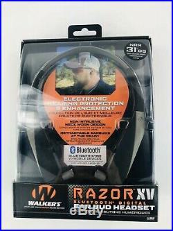 Walker's Game Ear GWP-NHE-BT Razor XV Muff for Shooting or Hunting Bluetooth