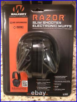 Walker's Game Ear Razor Slim Electron Razor Slim 23db-Black-NEW