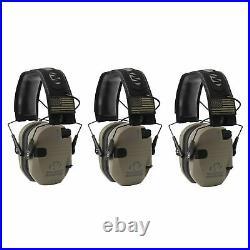 Walker's Patriot Razor Slim Shooting Ear Protection Muffs, NRR 23dB (3 Pack)