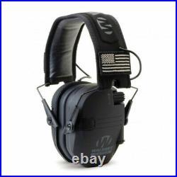 Walker's RAZOR Slim Ear Muffs PATRIOT 2X Flag Patches GWP-RSEMPAT