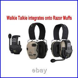 Walker's Razor Slim Electronic Muff (Black Patriot, 2-Pack) with Accessory Bundle