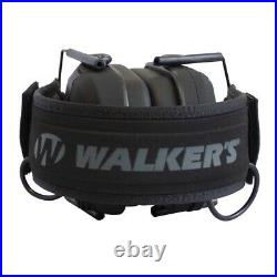 Walker's Razor Slim Folding Protection Shooting Ear Muffs, Punisher (2 Pack)