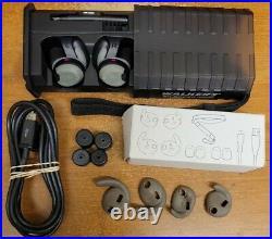 Walker's Rechargeable R600 Black Ear Muffs / Earbuds