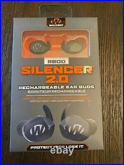 Walker's Silencer 2.0 R600 Rechargeable Ear Buds- FREE SHIPPING