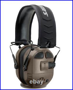 Walker's Ultimate Digital Quad Connect Elec Earmuffs with Bluetooth (NRR 27dB) M1