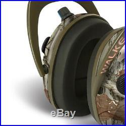 Walkers Alpha Muffs 360 Hunting 9x Hearing Enhancement Earmuffs, Camo (4 Pack)