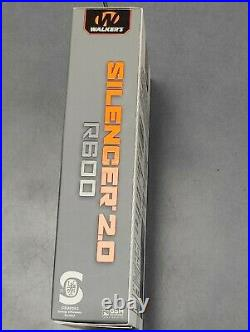 Walkers GWP-SLCRRC2 Silencer 2.0 Black Ear Muffs R600 NEW AND SEALED