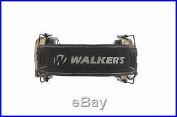 Walkers Game Ear Razor Slim Shooting Folding Muff Muffs Electronic Kryptek Camo