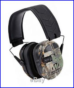 Walkers Game Ear Ultimate Power Muff Quads with AFT/Electric Mossy Oak Camo