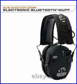 Walkers RAZOR SLIM ELECTRONIC QUAD MUFF With BLUETOOTH BLACK WGE-GWP-RSEQM-BT
