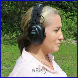 Walkers Razor Compact Women Youth Hearing Protection Shooting Earmuffs (4 Pack)