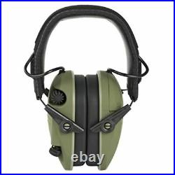 Walkers Razor Slim Shooter Folding Protection Earmuffs, Green Patriot (3 Pack)