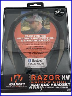 Walkers Razor XV Ear Bud Headset/ New