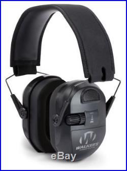 Walkers Ultimate Power Muff Quads, Black GWP-XPMQB Ear Muffs