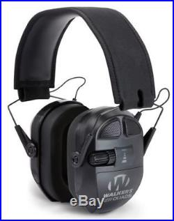 Walkers Ultimate Quad Analog Muff withBluetooth, Clam Pack GWP-XPMQ-BT