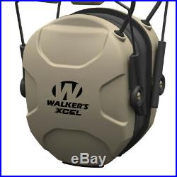 Walkers XCEL 100 Active Ear Hearing Protection Equipment Earphone Muff (2 Pack)
